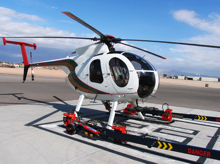 The TLC HeliLift is the ultimate choice for helicopter ground handling